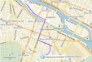 Проезд по Парижу