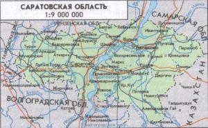 Рисованная карта-карта