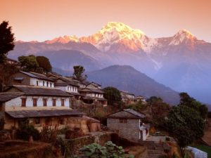 Ghandrung_Village_and_Annapurna_South,_Nepal,_Himalaya_-_160