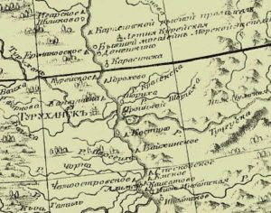 1792 год_Карта